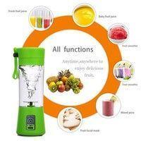 Wish | Portable USB Electric Fruit Juicer Smoothie Maker Blender Bottle Juice Shaker