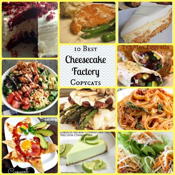 10 Best Cheesecake Factory Copycats | AllFreeCopycatRecipes.com