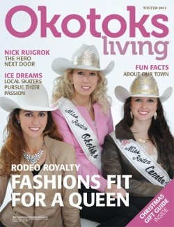 Okotoks Living is a magazine about Okotoks - find some new hidden gems or locales you didn't know about.
