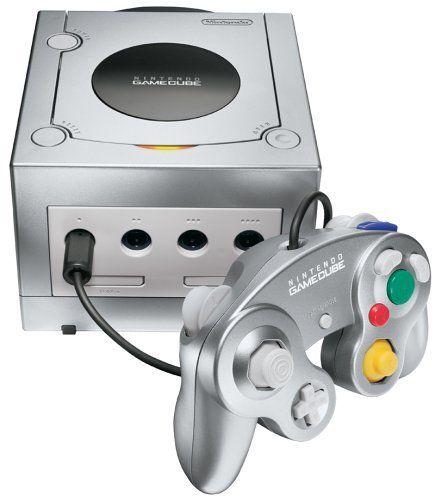 Gamecube Console Platinum Nintendo http://www.amazon.com/dp/B00006IJJI/ref=cm_sw_r_pi_dp_N9Zrwb0J4PDQ7