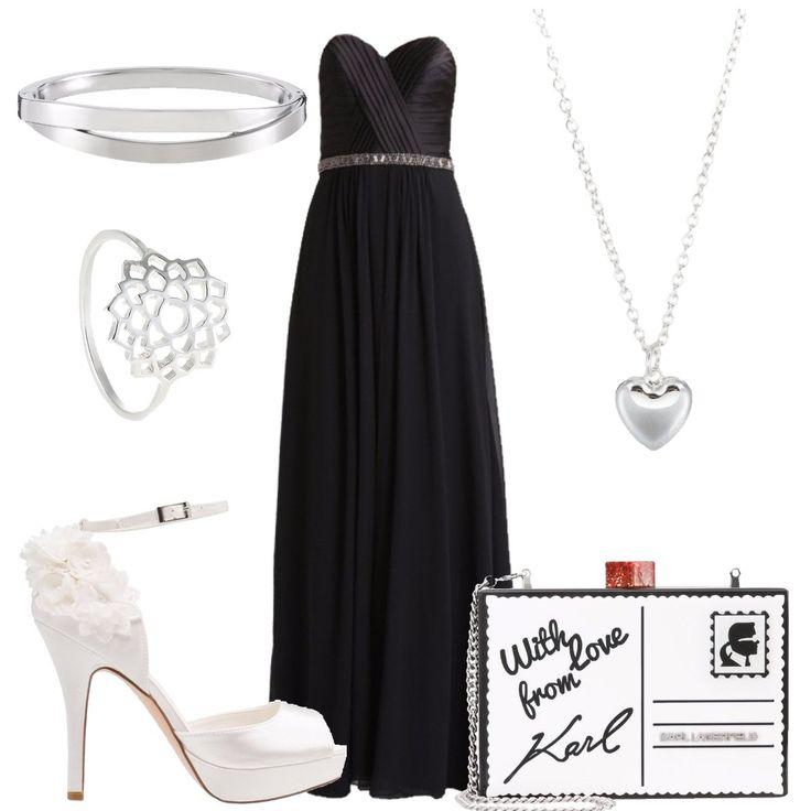 Accessori per abito nero da cerimonia