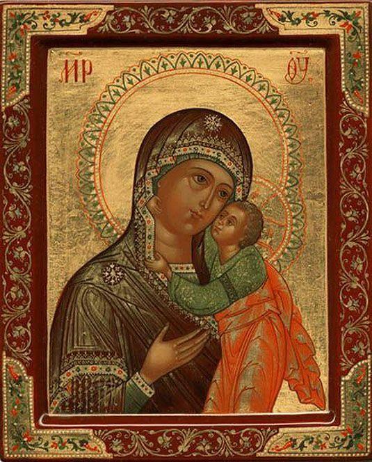 икона Божьей матери «УМИЛЕНИЕ»