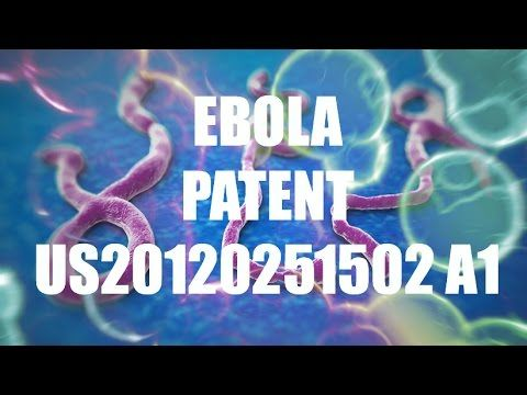 Why did the U.S. Government patent the Ebola virus in 2009