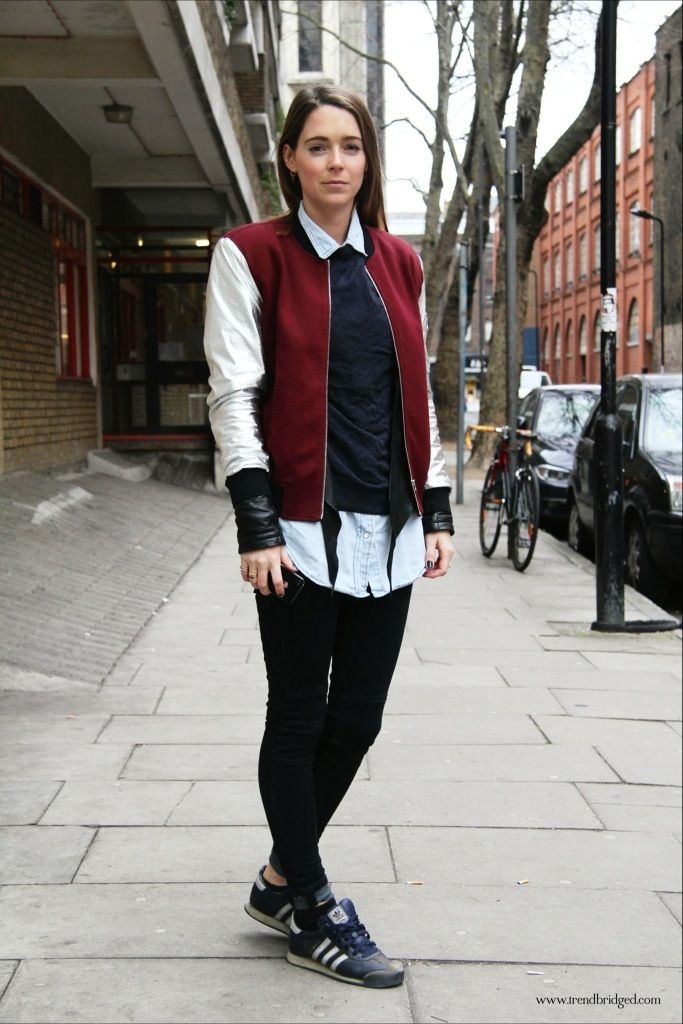 186 Best images about Women's Fashion-Baseball Jacket on Pinterest ...