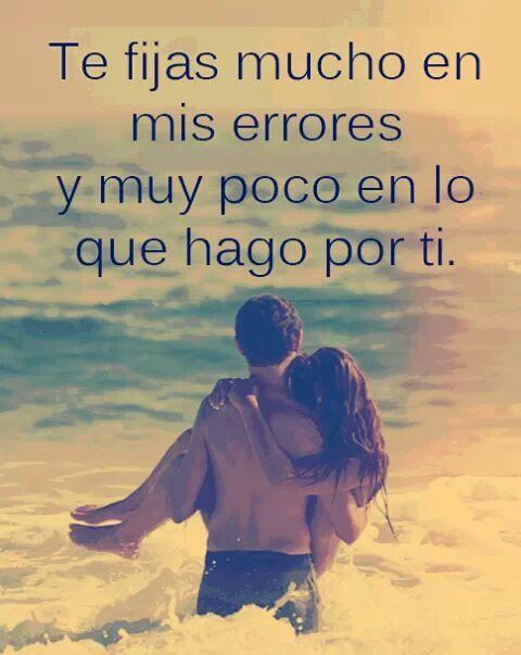 Simplemente, no valoran muchas cosas :c #Defectos #Amor # ...