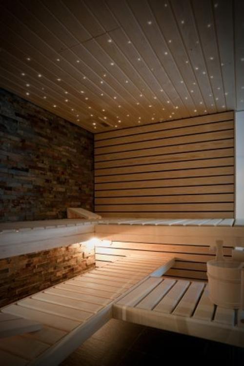 Sauna in Zermatt apartment