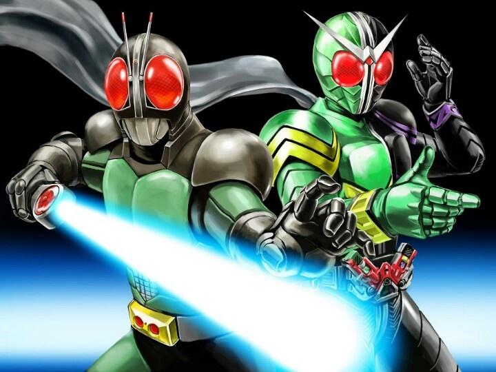 Kamen Rider Black RX and Kamen Rider W