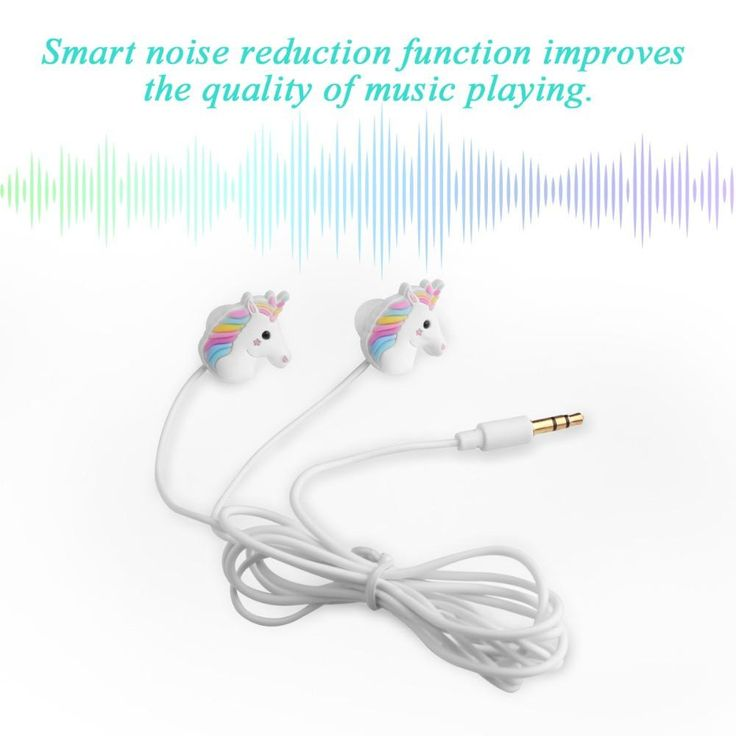 Super Cute Unicorn Earbuds! In-ear Earphones smart Noise Reduction #unicornlove #earbudsunicorn #cuteunicorn #unicornearbuds