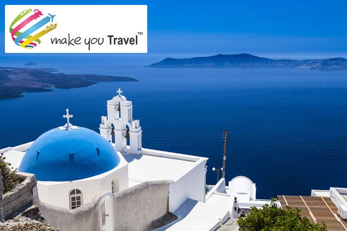 Greece Travel Deals - Sightseeing, City Tours & Lot More  Greece Holidays - Book Greece Tours & travel packages at MakeYouTravel. Greece Tour & holiday Packages can be customized.   Greece Tour Package at Rs. 78500