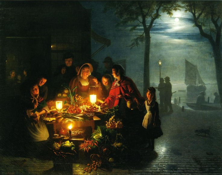 fine art,,family dinner