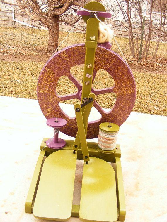 ASHFORD KIWI 2 spinning wheel by artclub on Etsy