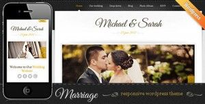 Marriage is an amazing theme made for wedding and matrimonial websites with features like minimal designs, beautiful colors, easy customizable options and many more. Check it now : http://www.nulledlistings.com/?p=1963