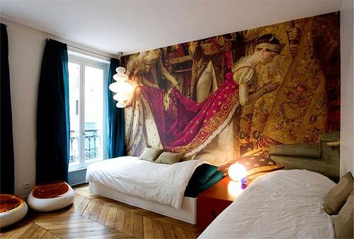 Overscale Renaissance Wallpaper