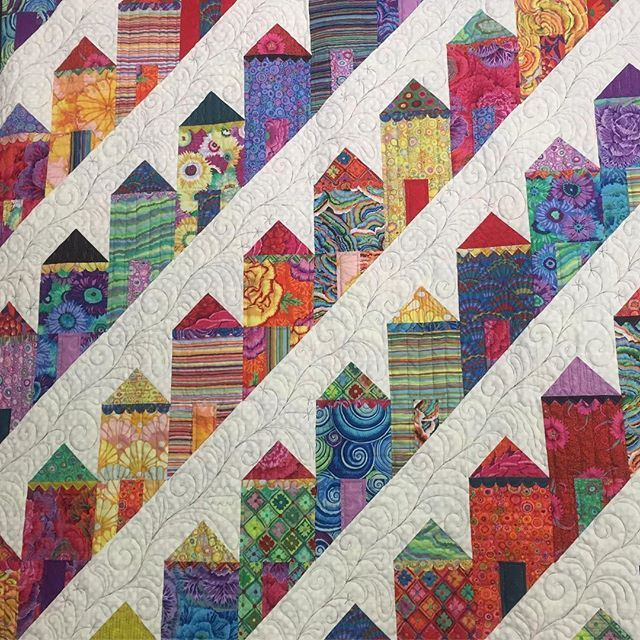 Painted Ladies House Quilt