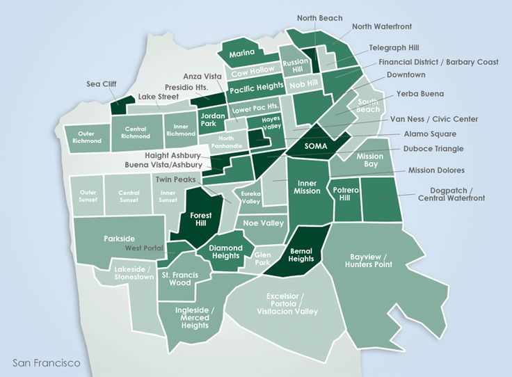 SF neighborhood map that we might disagree on.  Interesting boundary lines