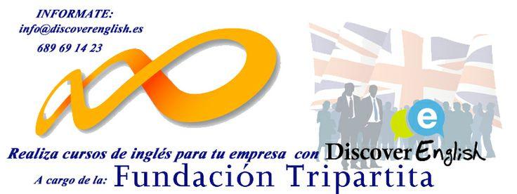 Aprende ingles en Fuente Alamo y alrededores a traves de tu empresa y a cargo de  la Fundación Tripartita, ven e informate !
