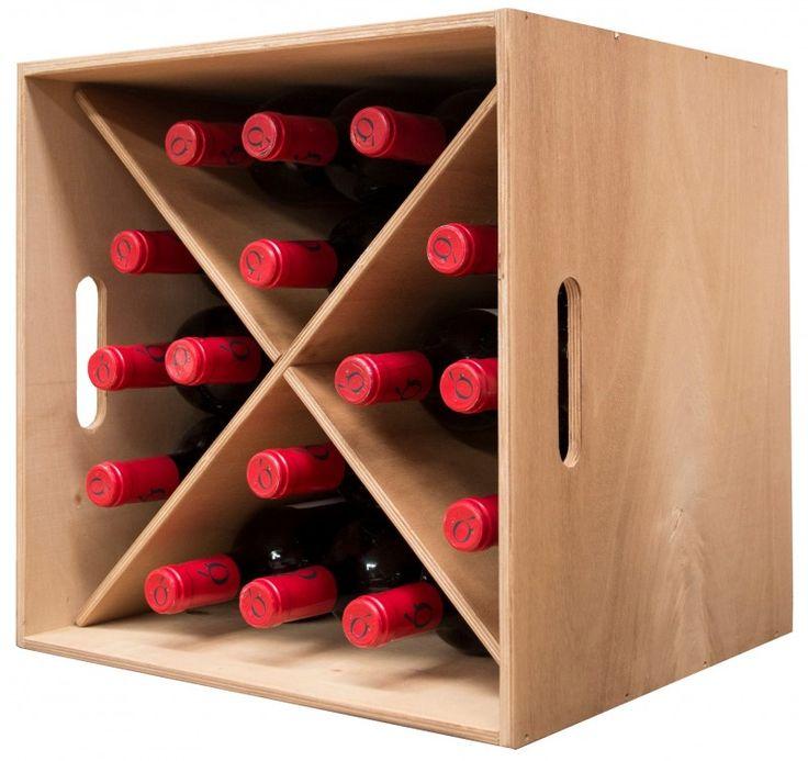 botellero de madera capacidad 16 botellas | expovinalia sl | Negotiums España