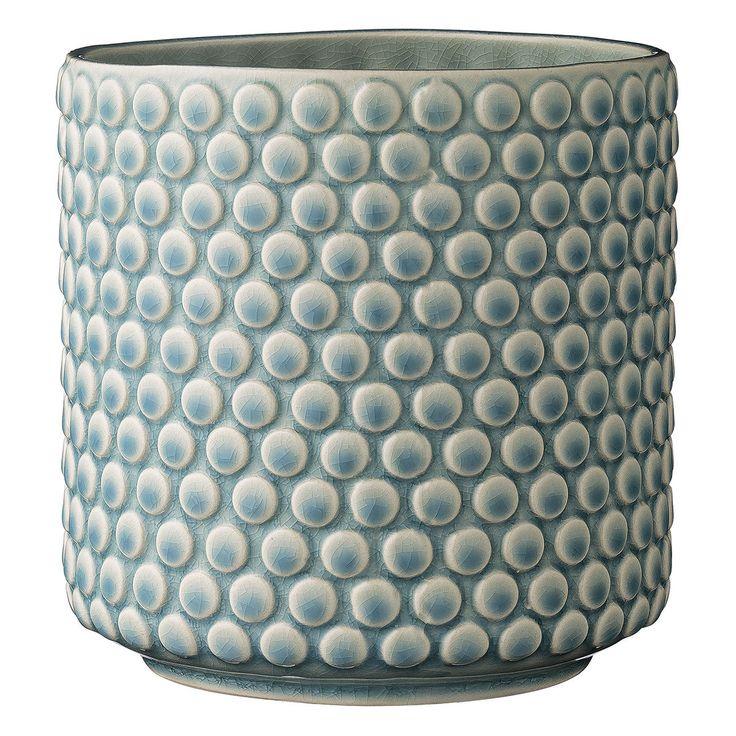 Cache pot Cache Pot en Grès Bubble 15.5 cm Bleu Ciel Cache Pot en Grès Bubble 15.5 cm Bleu Ciel - Maginea