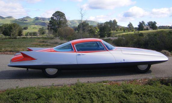 1955 Ghia Gilda X Turbine Powered Chrysler Concept