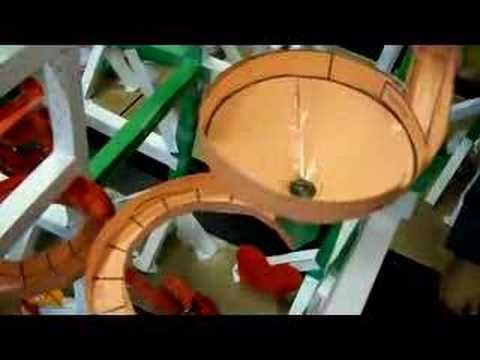 paper roller coaster art marble run pinterest