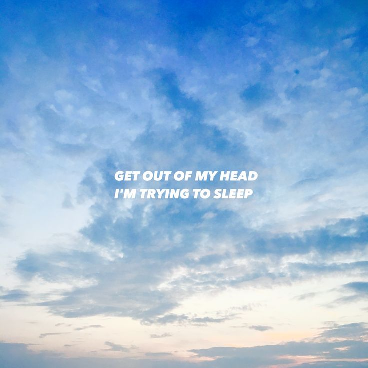 Grunge Aesthetic Pale Blue Sky Quote