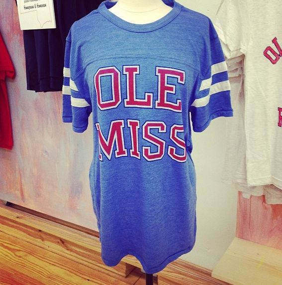 One of our favorite Ole Miss jersey shirts!