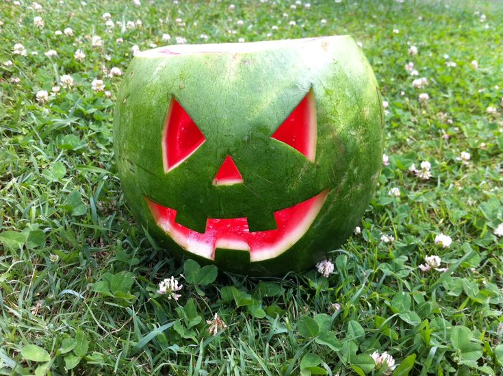 Images about halloween watermelons on pinterest