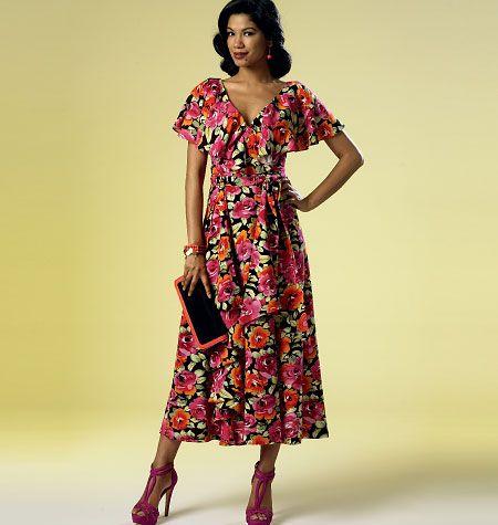 Misses' Dress and Sash