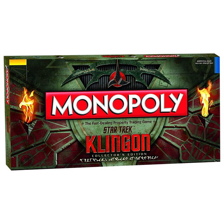 Star Trek - Monopoly Klingon Collector's Edition Board Game - ZiNG Pop Culture
