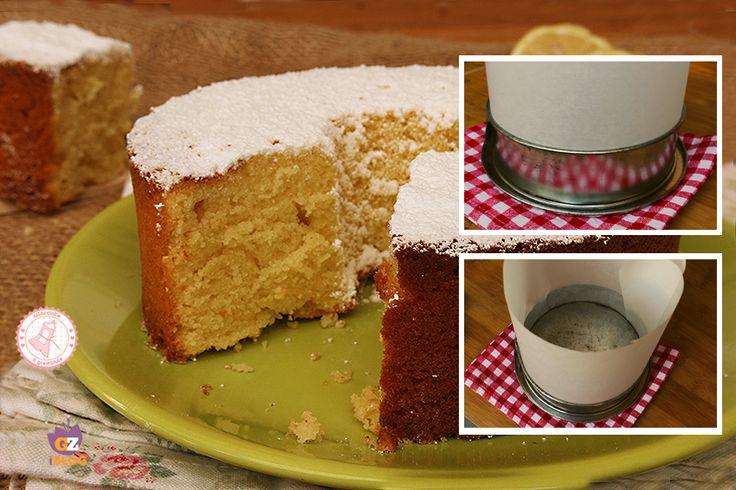 COME FARE LA CHIFFON CAKE SENZA STAMPO