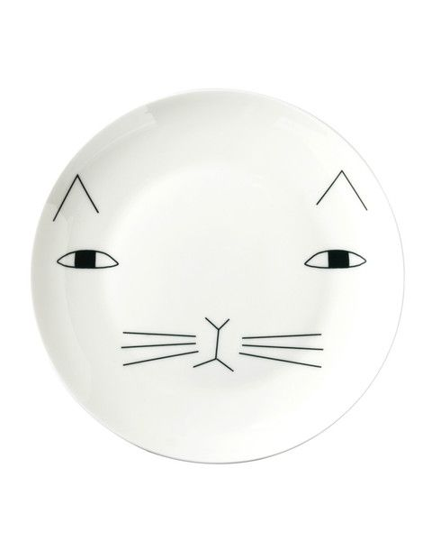 Mog Plate: Cat Art, Artsy Modern, Cute Cats, Mog Plate, Apartment Decorating, Cat Faces, Decorating Crafts, Plate Artsymodern Com