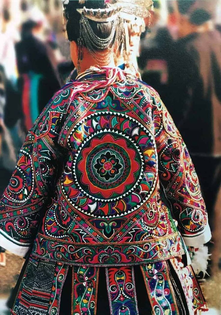 Miao embroidery is peculiar to the Miao ethnic group ... Miao People Art
