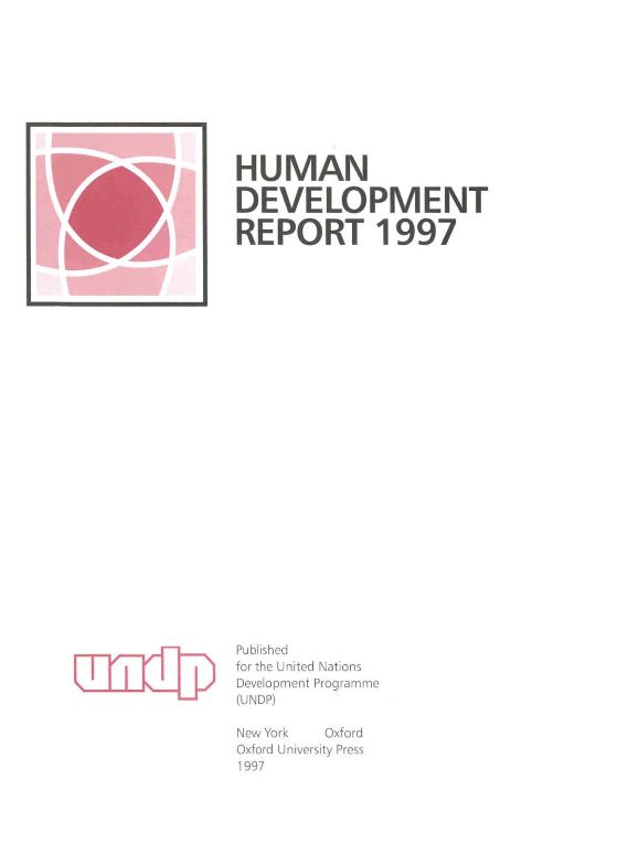 Best 25 human development report ideas on pinterest united united nations development programme undp 1997 human development report 1997 human sciox Gallery