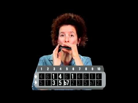 Basic Blues Scale - Harmonica Lessons - http://www.blog.howtoplaytheharmonica.org/harmonica-lessons/basic-blues-scale-harmonica-lessons