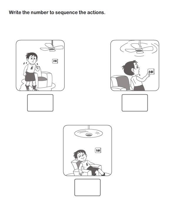 Picture Sequence Worksheet 16 - esl-efl Worksheets - kindergarten Worksheets