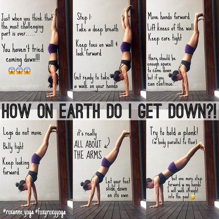 """899 Likes, 33 Comments - Roxanne Gan  (@roxanne_yoga) on Instagram: """"PART II: WALKING DOWN  So in Part I there were a lot asking: How do I get down?? So here's how I…"""""""
