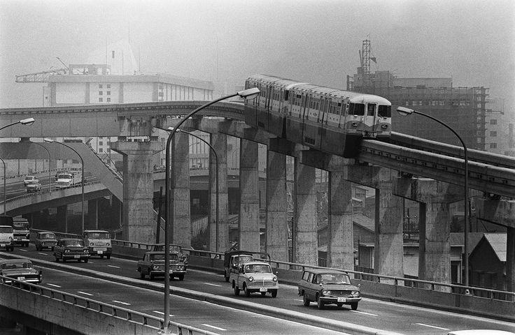 Tokyo Monorail - 東京オリンピック 1964年、街は大きく変わっていった【画像集】