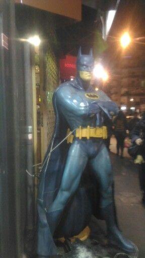 Batman in Naples.