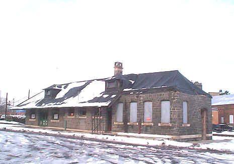 The Quakertown  Passenger Station circa 2007