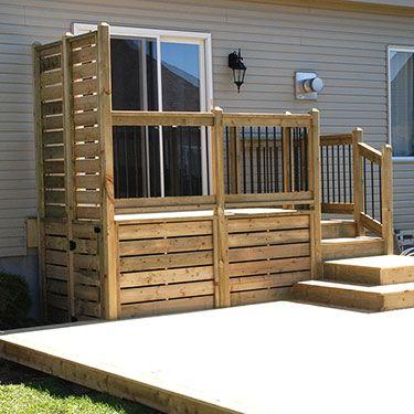 construction de deck de piscine à Montréal et en Montérégie