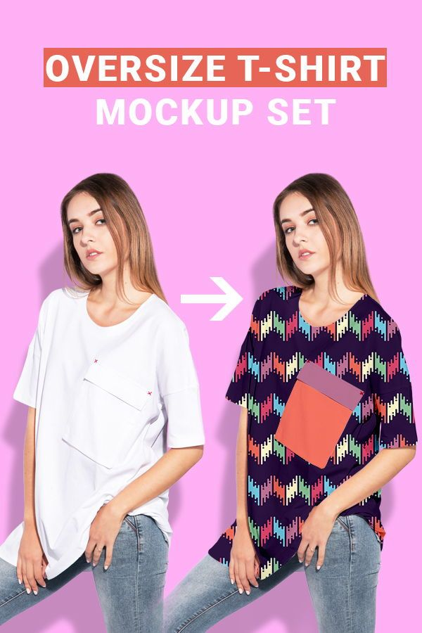 Download Fashion Mockup Clothing Template For Fabric Pattern Design Presentation Psd Files Of Oversiz Clothing Mockup Pattern Design Inspiration Fabric Patterns Design