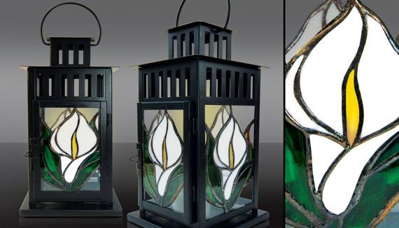 stained glass lanterns by Cherrypl on Etsy