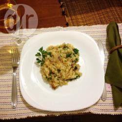 Foto da receita: Risoto de bacalhau delicioso