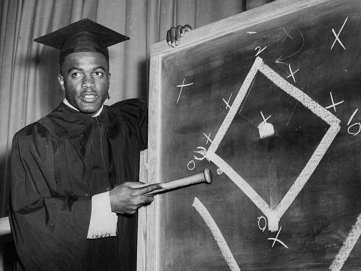 the early education of jackie robinson Jepson house education center  when jackie robinson reported for duty in los angeles after being drafted, his name was already well-known for his distinguished.