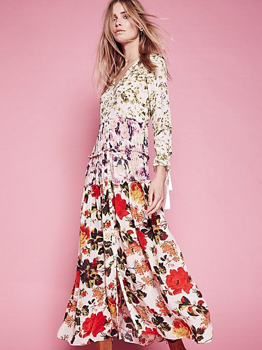 98ad73c6f0f7 Dresses - Boho, Cute and Casual Dresses for Women | Free People | online  window shopping vol .2 | Floral maxi dress、Dresses、Floral maxi