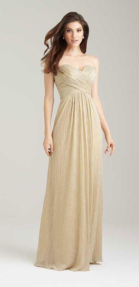 Gold Bridesmaid Dresses to Shop Now | TheKnot.com