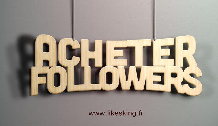 Visite pour le site Web https://www.likesking.fr/acheter-des-followers-instagram/ pour plus d'informations sur acheter des followers. acheter des followers et aime n'est pas à peu près le nombre ou l'achat de popularité – il s'agit de l'effet consécutif. Si vous avez déjà un millier de partisans, les gens sont plus susceptibles de prendre vos messages au sérieux.