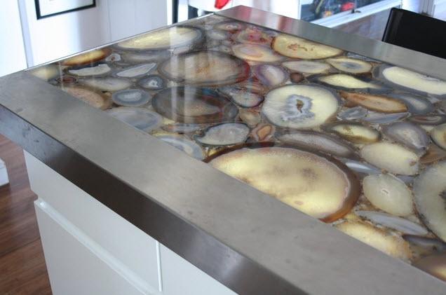 Geode countertops Home Decor