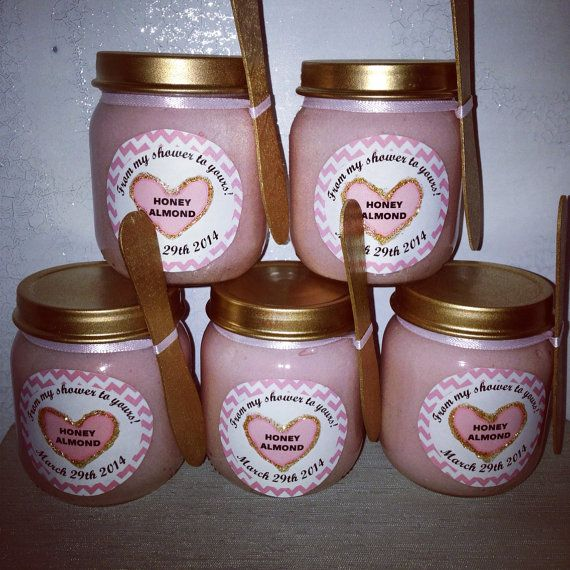 Body Scrub For A Baby Shower Set Of Five (Party Favors) Girl Or Boy (Bridal  Shower/Wedding)