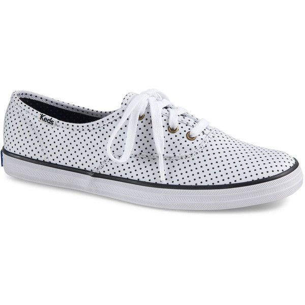 champion polka dot lace keds